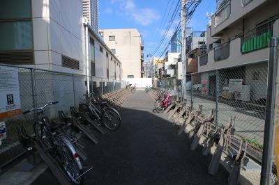 125台収容の駐輪設備