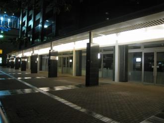 休店直後のデリド武蔵小杉店