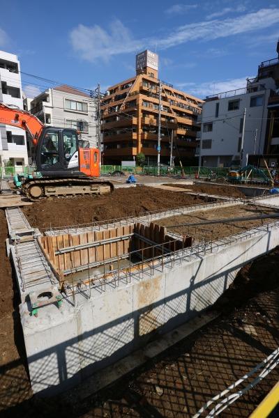 建設の基礎部分