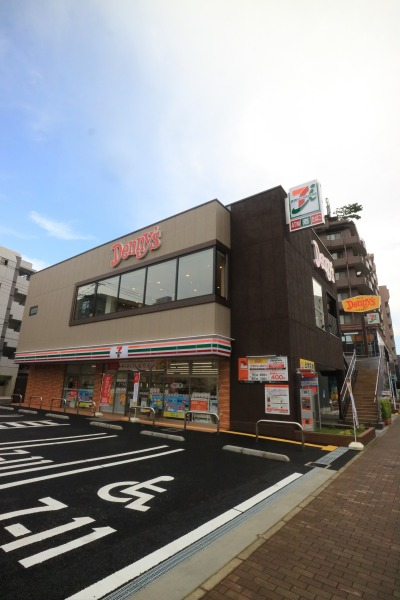 「デニーズ武蔵小杉店」「セブンイレブン川崎新丸子東2丁目店」の複合店舗