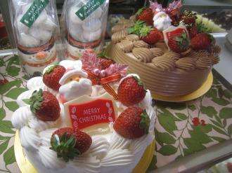 基本のデコレーションケーキ