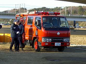 消防団の皆さん