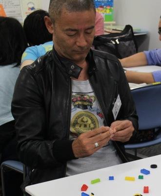 グループワークに参加「ピープルデザインプロジェクト」の須藤シンジさん