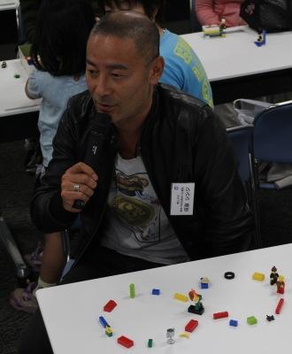 須藤シンジさんが作られた「人の輪」