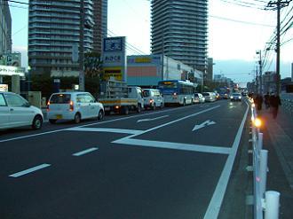 3/11 17:48 綱島街道