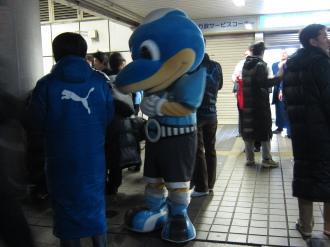 川崎フロンターレによる募金活動