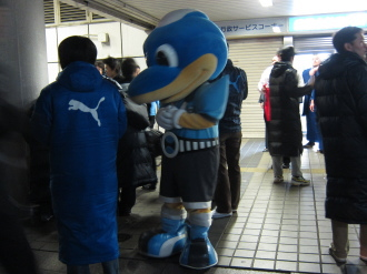 2011年3月18日の街頭募金活動