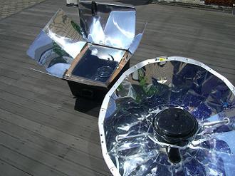 ソーラークッキング器具