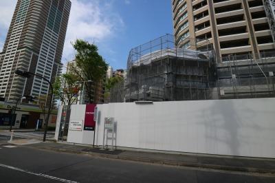 「パークシティ武蔵小杉 ザ ガーデン」のペデストリアンデッキ接続部分
