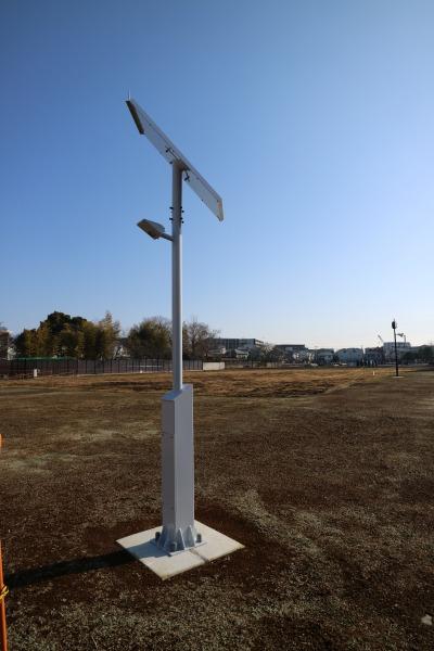 太陽光発電の照明
