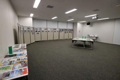 中原図書館「震災から1800日、東日本大震災を振り返る」