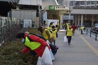2月1日の大掃除大会