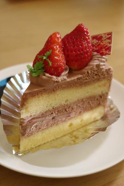 生チョコレートショートケーキ
