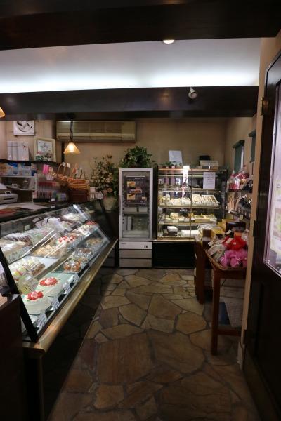 「西洋菓子フェリシア」の店内