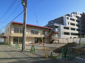 ケーヒン川崎工場跡地の「小杉もりのこ保育園」