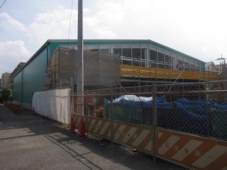 建設中のフィットケアデポ上小田中店