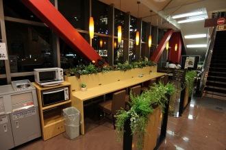 フリー飲食スペース