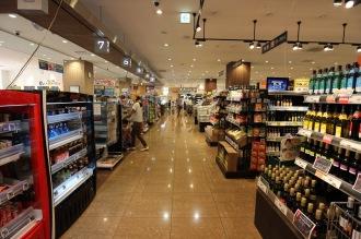 フーディアム武蔵小杉の1階食品売場