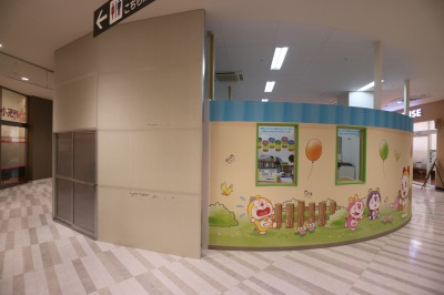 「日本旅行OMCトラベル」跡地の「小学館の幼児教室 ドラキッズ」