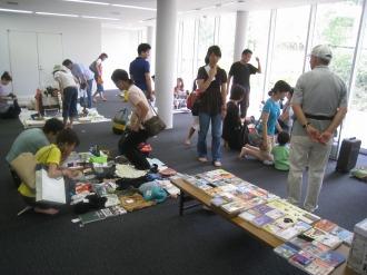 2009年7月のフリーマーケット