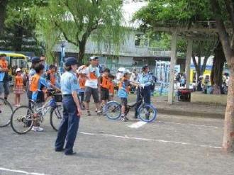 自転車交通安全教室