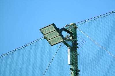川崎フロンターレによる夜間LED照明の整備