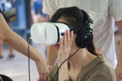 地球温暖化VR体験