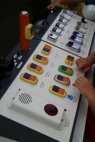 東急バスのボタン体験