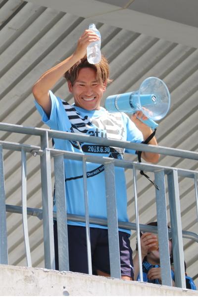 登里選手の乾杯