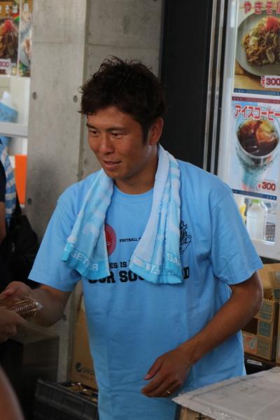 田坂祐介選手の「タッピング」