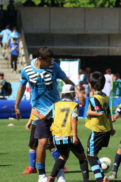 エドゥアルド選手とサッカー