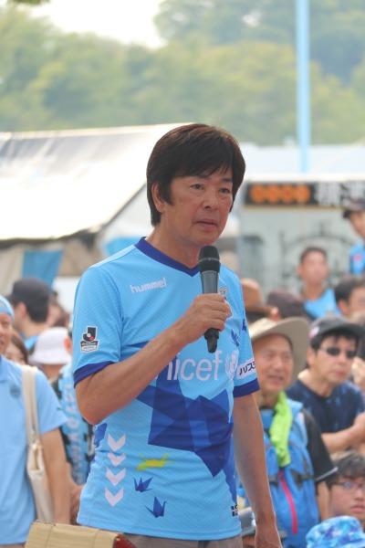 高田社長のトークショー