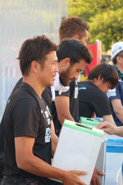 「平成30年7月豪雨」の募金活動