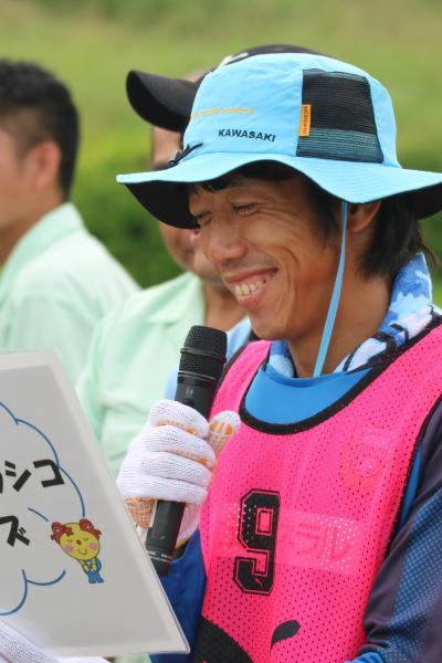 中村憲剛選手・エウシーニョ選手による「環境クイズ」