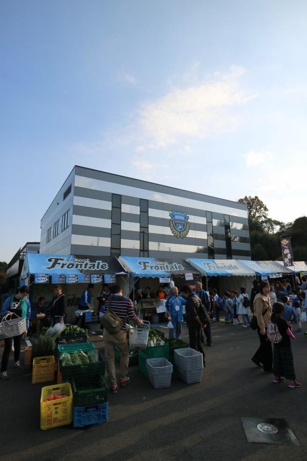 川崎フロンターレの麻生グラウンド(クラブハウス)
