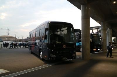 鹿島アントラーズの選手送迎バス
