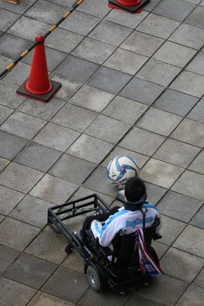 電動車いすサッカー体験