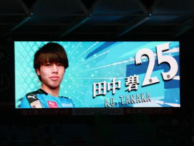 ボランチでフル出場の田中碧選手