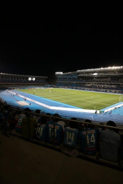 AFCチャンピオンズリーグが開催された等々力陸上競技場