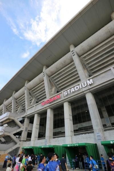 ワールドチャレンジが開催された日産スタジアム