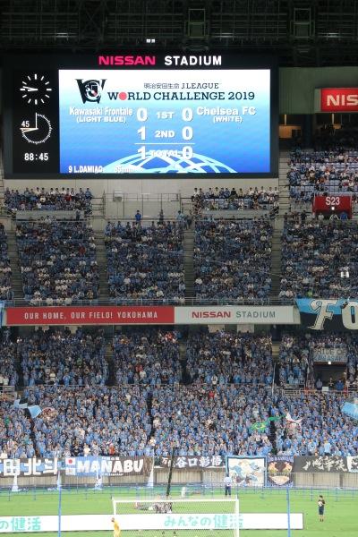 川崎フロンターレが1-0で勝利