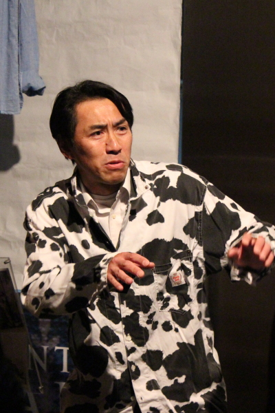 「nakool」でのチャリティ一人芝居も開催された高山広さん