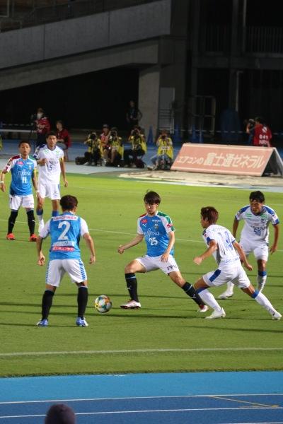 川崎フロンターレと大分トリニータの熱戦