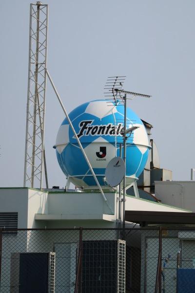 サッカーボール型のタンク