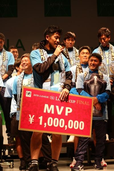 MVPの新井章太選手
