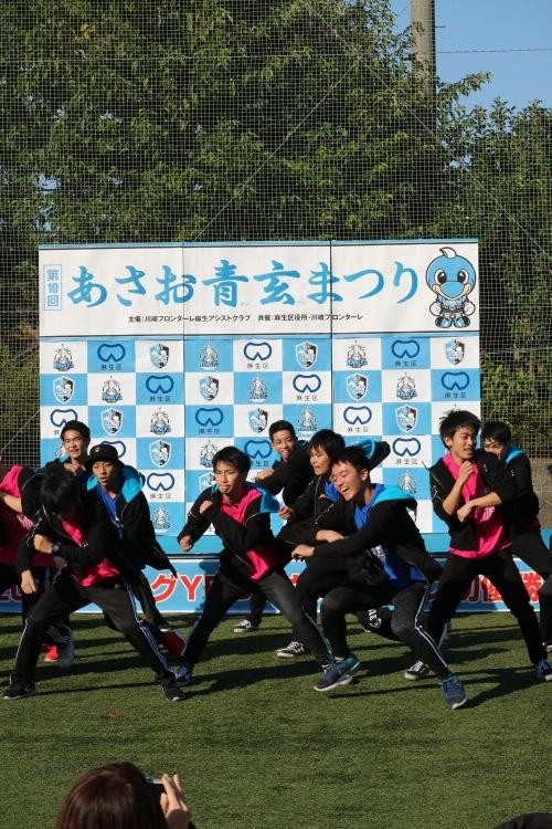 桐光学園ダンス部によるパフォーマンス