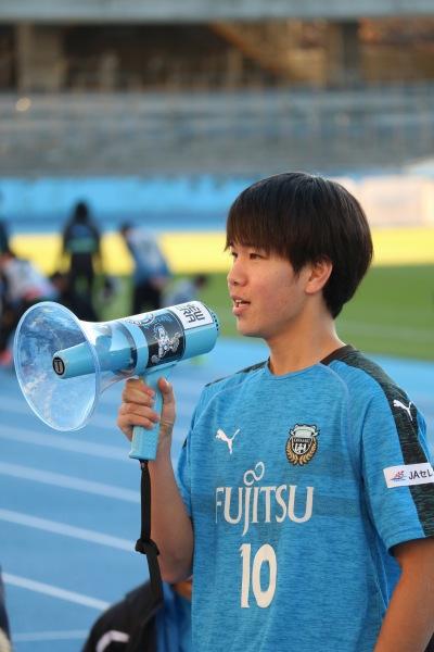 U-18卒業の挨拶・宮城天選手