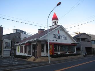 閉店前のリンガーハット川崎武蔵小杉店