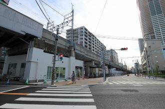 「デイリーヤマザキ川崎中原区役所前店」のオープン予定地