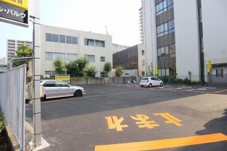 時間貸しの駐車場